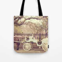 New Orleans Carriage Ride Tote Bag
