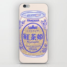 Royal Tea iPhone Skin