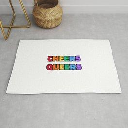 Cheers Queers LGBTQ Rug