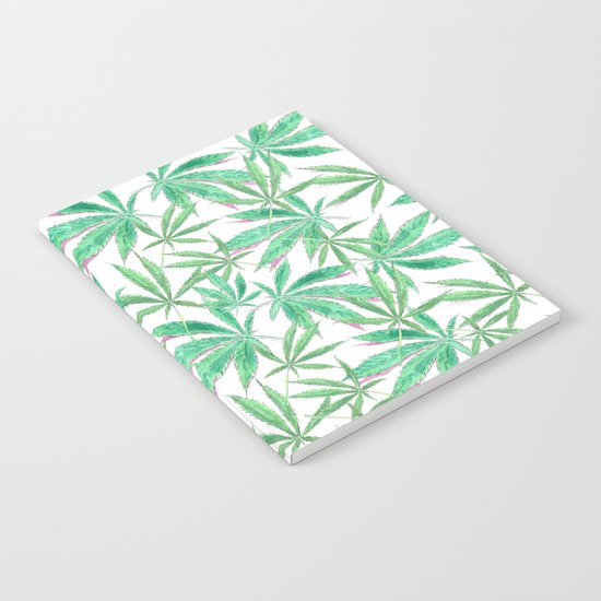420 Leaves Notebook
