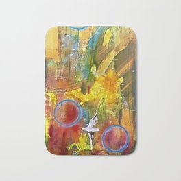 I Dance Boundless Through Space and Time Bath Mat