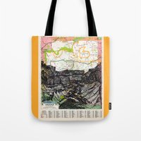 arizona Tote Bags featuring Arizona by Ursula Rodgers