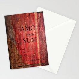 Amo Ergo Sum Stationery Cards