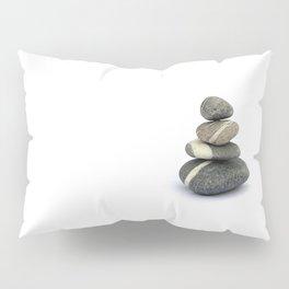 Four Pebbles Totem Pillow Sham