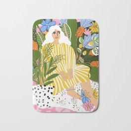 The Jungle Lady Bath Mat