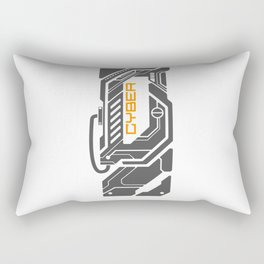 CyberPunk 3 Rectangular Pillow