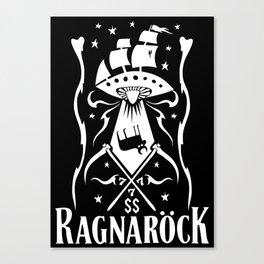 Ragnarock Space ship one Canvas Print