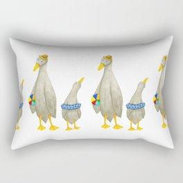 The ducks day out! Rectangular Pillow