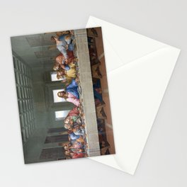 The Last Supper by Leonardo da Vinci Stationery Cards