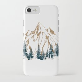 mountain # 4 iPhone Case