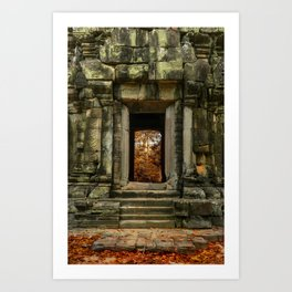 Mysterious Temple Art Print