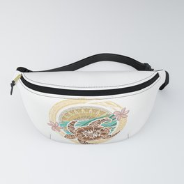 If We Tollerate This Eco Turtle Fanny Pack