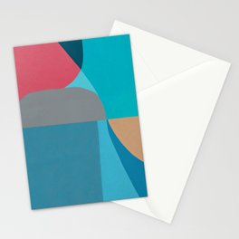 Lurking In River Stationery Cards