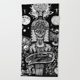 Awakening in Union Beach Towel