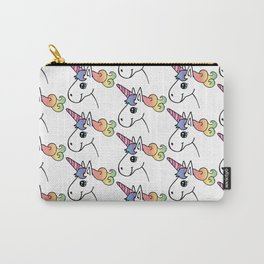 Happy Little Unicorn Carry-All Pouch