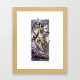 Water Elemental Framed Art Print