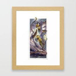 Water Elemental Framed Art Print