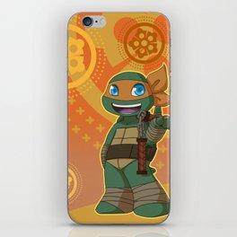 TMNT Chibi Mikey iPhone Skin