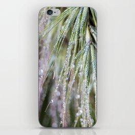 dewy weed iPhone Skin