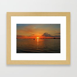 Grasping at Memories Framed Art Print