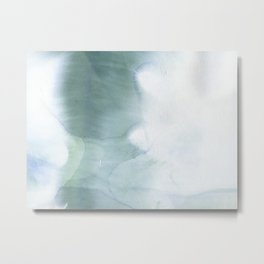 Watercolour splash Metal Print