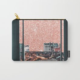French Summer Carry-All Pouch