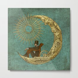 Moon Travel Metal Print