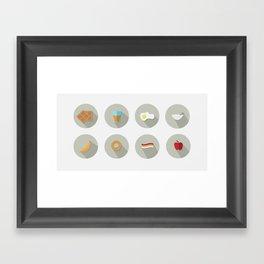 Eat your Breakfast! Framed Art Print