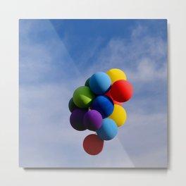 Balloons Metal Print