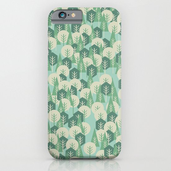 Geometric Woods iPhone & iPod Case