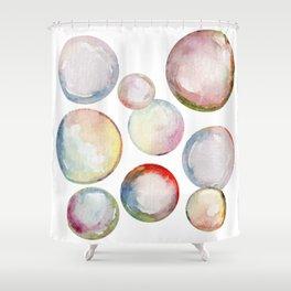 Hello Bubbles Shower Curtain