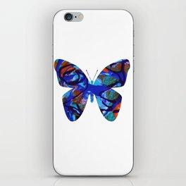 BB BLUE iPhone Skin