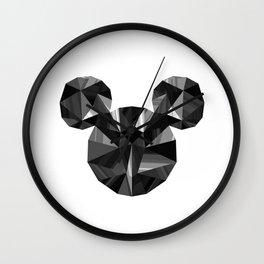 Black Pop Crystal Wall Clock