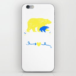 Mama Bear design Down Syndrome Awareness For Moms iPhone Skin