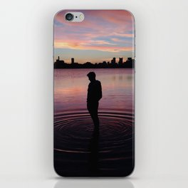 A Boston Sunset iPhone Skin