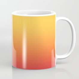 Tropical Colorful Gradient Pattern Coffee Mug