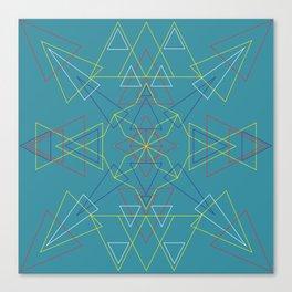 Radial Pattern II Canvas Print