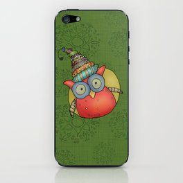 Puki Owl iPhone Skin