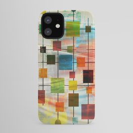 Mid-Century Modern Art 1.3 -  Graffiti Style iPhone Case