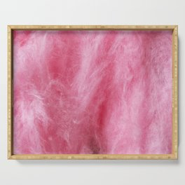 Pink Cotton Candy Serving Tray