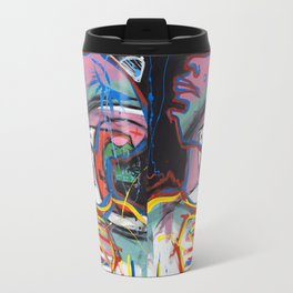 Self Reflectionism by Amos Duggan Travel Mug