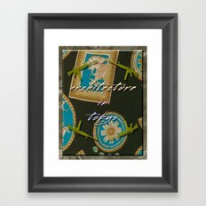 Architecture in tokyo / 東京の建築 Poster Framed Art Print