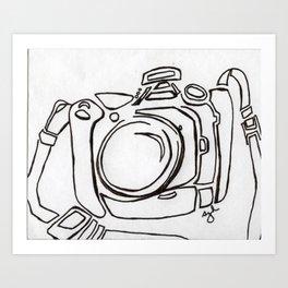my camera Art Print