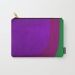 Purple on the Left Side Carry-All Pouch