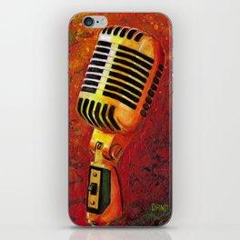 Vintage Microphone iPhone Skin
