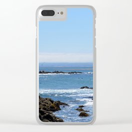 Morro Bay Tide Pool Clear iPhone Case