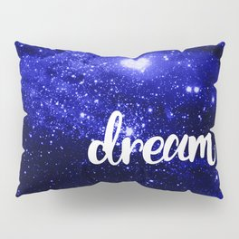 Blue Galaxy Dream Pillow Sham