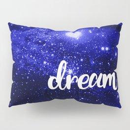 Blue Galaxy Dream Pillow Sham