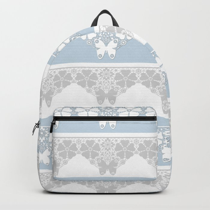 The blue lace . Backpack