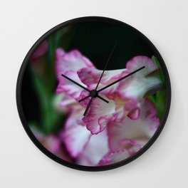 Blooms in the Night Wall Clock
